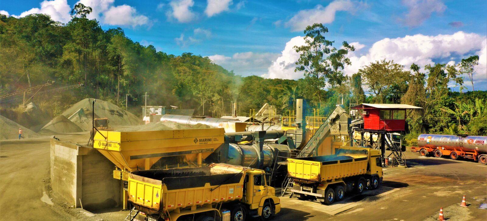 Planta de MARINI Latin America en funcionamiento en el estado de Santa Catarina